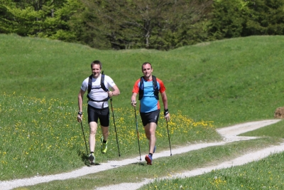 Nordic Walking in Hamburg-Bramfeld